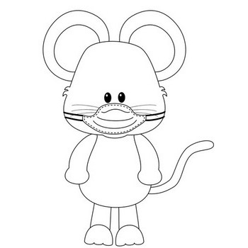 Mouse with Mask