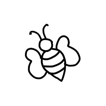 Bee Outline