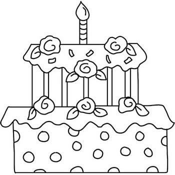 Birthday Coloring Pages Celebrate Birthdays 41 Coloring Pages