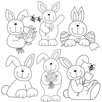 Cute Easter Bunnies