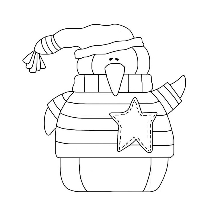 Penguin Coloring Pages